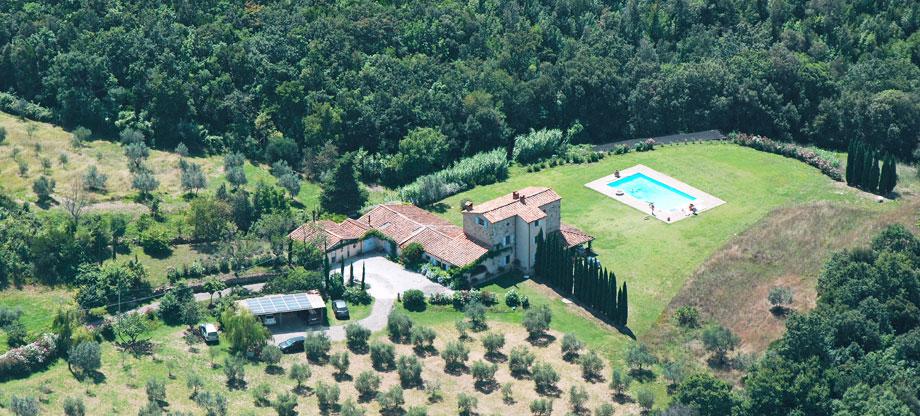 Ricevimenti Matrimoni Toscana : Villa banditelle blu esclusiva in affitto per